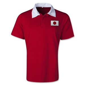 Japan Retro Flag Shirt (Red)