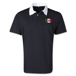Mexico Retro Flag Shirt (Black)