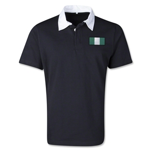 Nigeria Retro Flag Shirt (Black)