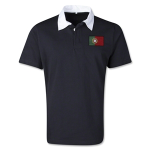 Portugal Retro Flag Shirt (Black)