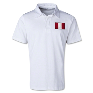 Peru Retro Flag Shirt (White)
