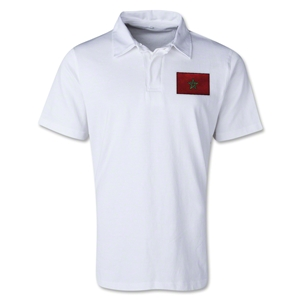 Morocco Retro Flag Shirt (White)