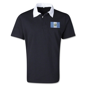 Guatemala Retro Flag Shirt (Black)