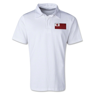 Tonga Retro Flag Shirt (White)