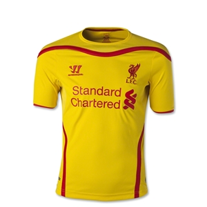 Liverpool 14/15 Youth Away Soccer Jersey