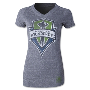 Seattle Sounders Originals Women's Fan V-Neck T-Shirt