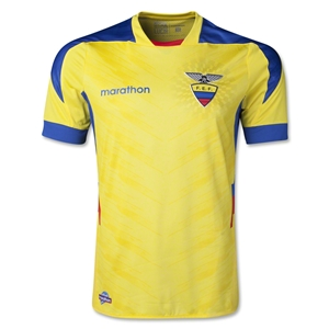 Ecuador 14/15 Authentic Home Soccer Jersey