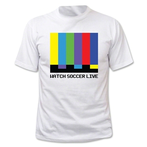 Watch Soccer Live T-Shirt (White)