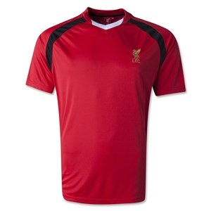 Liverpool Poly V-Neck T-Shirt