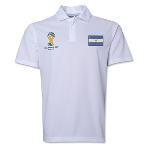 Argentina 2014 FIFA World Cup Polo (White)