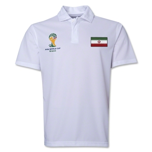 Iran 2014 FIFA World Cup Polo (White)