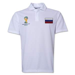 Russia 2014 FIFA World Cup Polo (White)