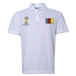 Cameroon 2014 FIFA World Cup Polo (White)