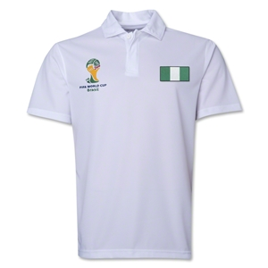 Nigeria 2014 FIFA World Cup Polo (White)