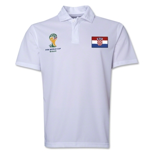 Croatia 2014 FIFA World Cup Polo (White)