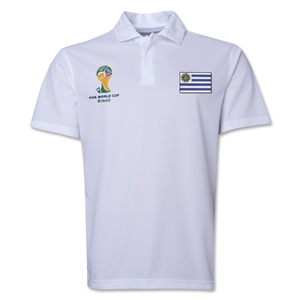 Uruguay 2014 FIFA World Cup Polo (White)