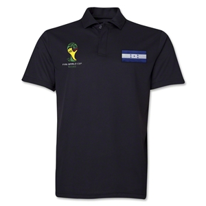 Honduras 2014 FIFA World Cup Polo (Black)