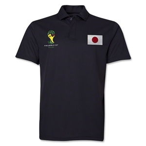 Japan 2014 FIFA World Cup Polo (Black)
