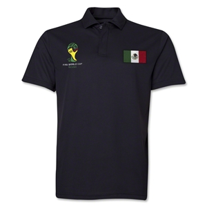 Mexico 2014 FIFA World Cup Polo (Black)