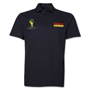Germany 2014 FIFA World Cup Polo (Black)