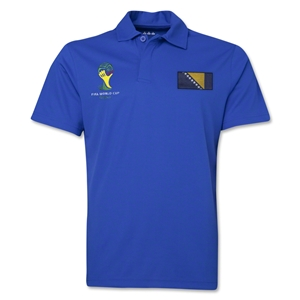 Bosnia-Herzegovina 2014 FIFA World Cup Polo (Royal)