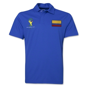 Colombia 2014 FIFA World Cup Polo (Royal)