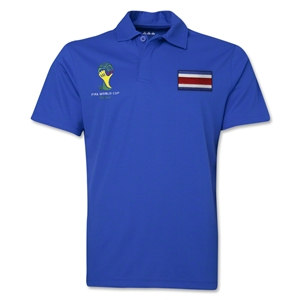 Costa Rica 2014 FIFA World Cup Polo (Royal)