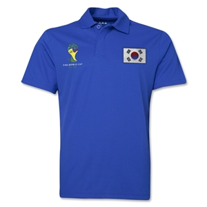 South Korea 2014 FIFA World Cup Polo (Royal)
