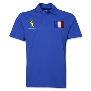 France 2014 FIFA World Cup Polo (Royal)