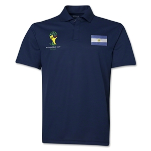Argentina 2014 FIFA World Cup Polo (Navy)