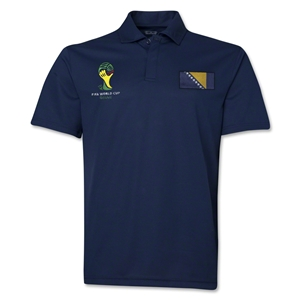 Bosnia-Herzegovina 2014 FIFA World Cup Polo (Navy)