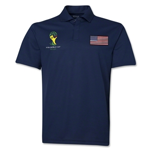 USA 2014 FIFA World Cup Polo (Navy)