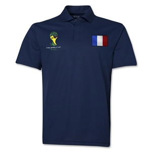 France 2014 FIFA World Cup Polo (Navy)