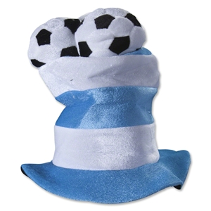 Argentina 3 Ball Plush Hat
