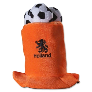 Netherlands 3 Ball Plush Hat