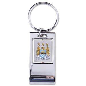 Manchester City Bottle Opener Keyring