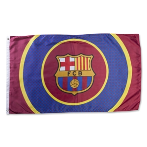 Barcelona Striped 5x3 Flag
