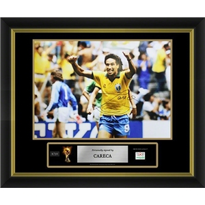 Careca Signed Brazil Photo