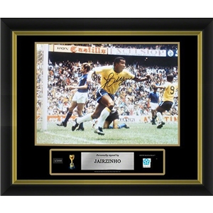 Jairzinho Signed Brazil Photo