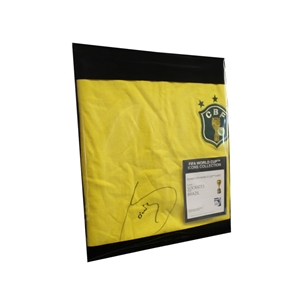 Socrates Signed Brazil Jersey