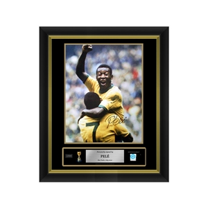 Pele Signed Brazil Photo 1