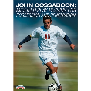 John Cossaboon Midfield Play Passing DVD