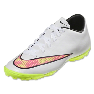 Nike Mercurial Victory V TF (White/Volt/Hyper Pink)