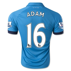 Stoke City 14/15 ADAM Away Soccer Jersey