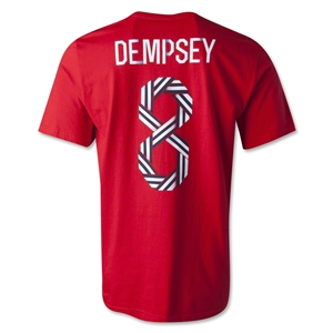 USA Dempsey T-Shirt (Red)