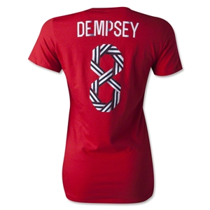 USA Dempsey Women's T-Shirt (Red)