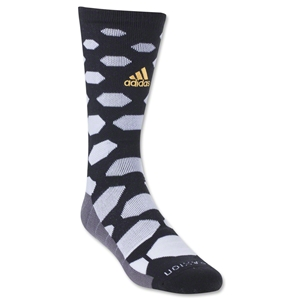 adidas Battle Pack Knit Crew Sock (Blk/Wht)
