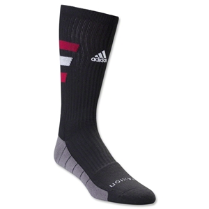 adidas Team Speed Traxion Crew Sock (Blk/Red)