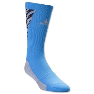 adidas Team Speed Traxion Shockwave Crew Sock (Blue)