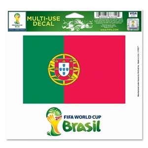 Portugal FIFA World Cup 2014(TM) 5 x 6 Decal